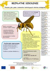 """Realizacja projektu """"Pszczoły jako jeden z elementów kształtujących rolnictwo ekologiczne"""""""